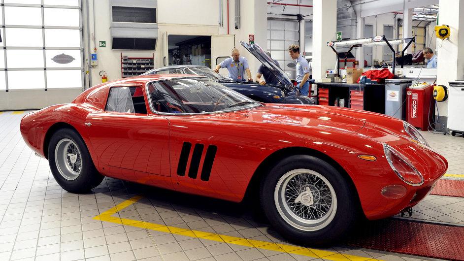 Legendární vozy Ferrari