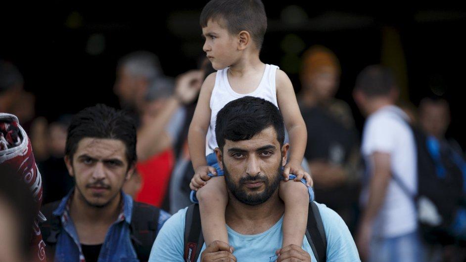 České firmy mají už teď místa pro 5000 syrských uprchlíků (ilustrační foto).