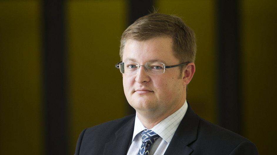 Jan Gregor, náměstek ministra financí.