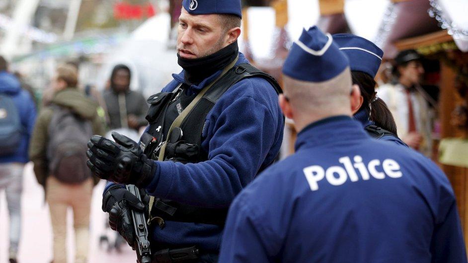 Belgická policie - Ilustrační foto.