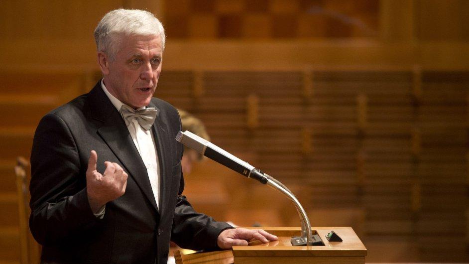 na schůzi Senátu 2. prosince v Praze.