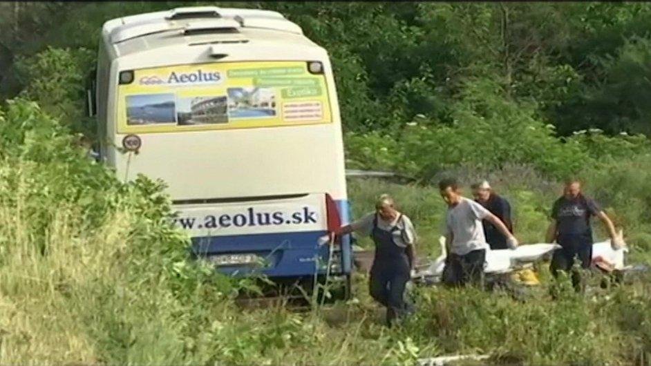Nehoda slovenského autobusu v Srbsku, červen 2016