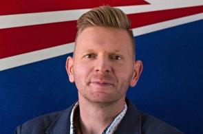 Andrej Kratochvíl, programový ředitel rádia Evropa 2 Slovensko