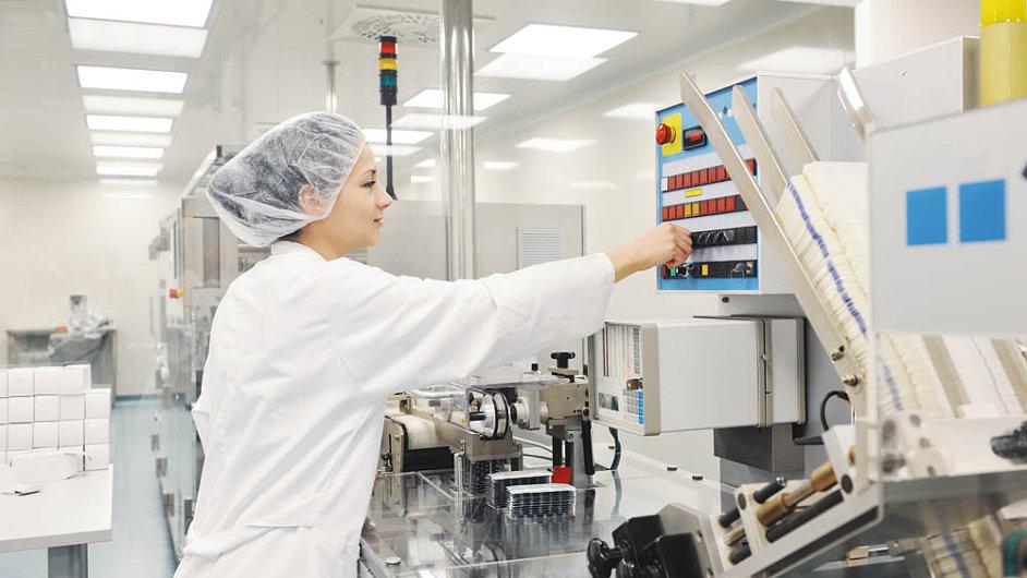 Průmysl 4.0 proniká do výrobních procesů ve farmacii - ilustrační foto.