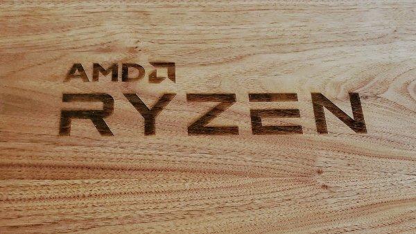 AMD Ryzen – logo na speciálním balení procesorů pro recenzenty