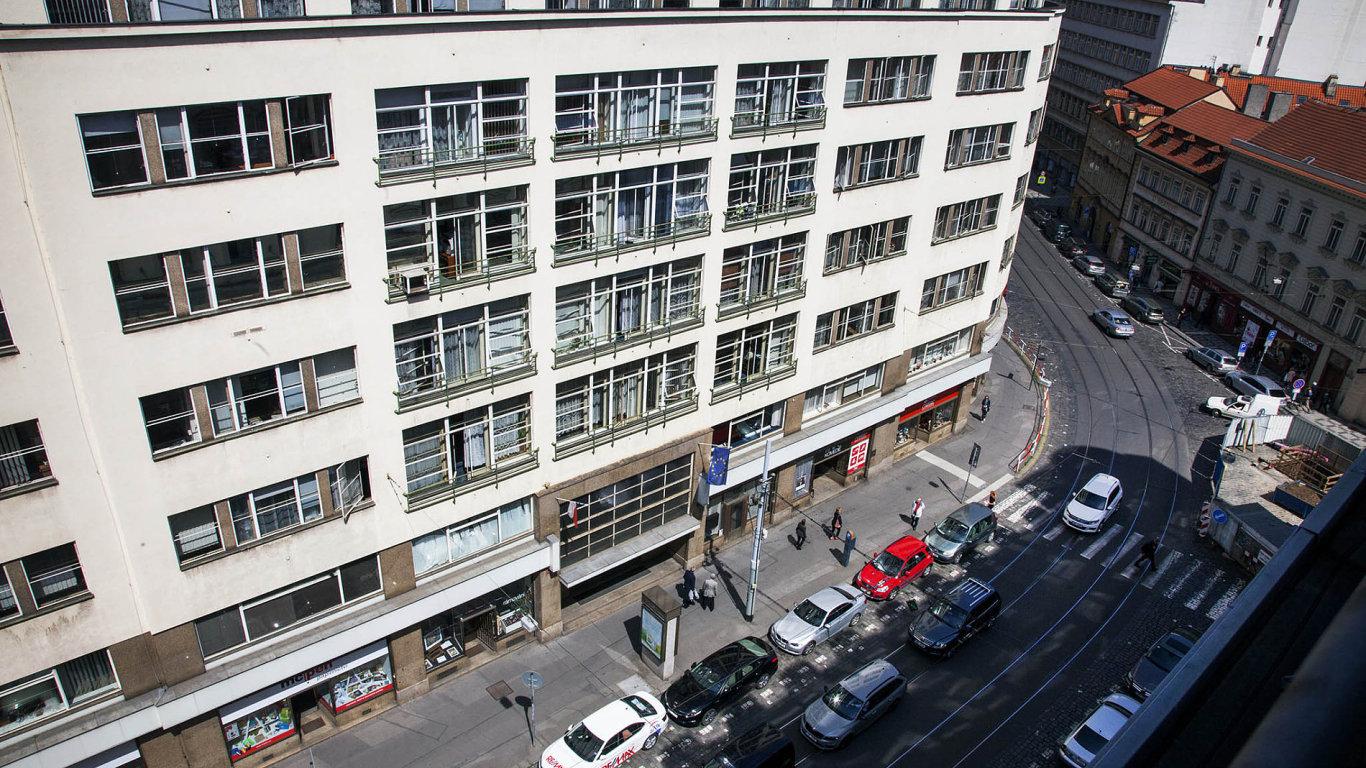 Pražské sídlo Generálního finančního ředitelství.