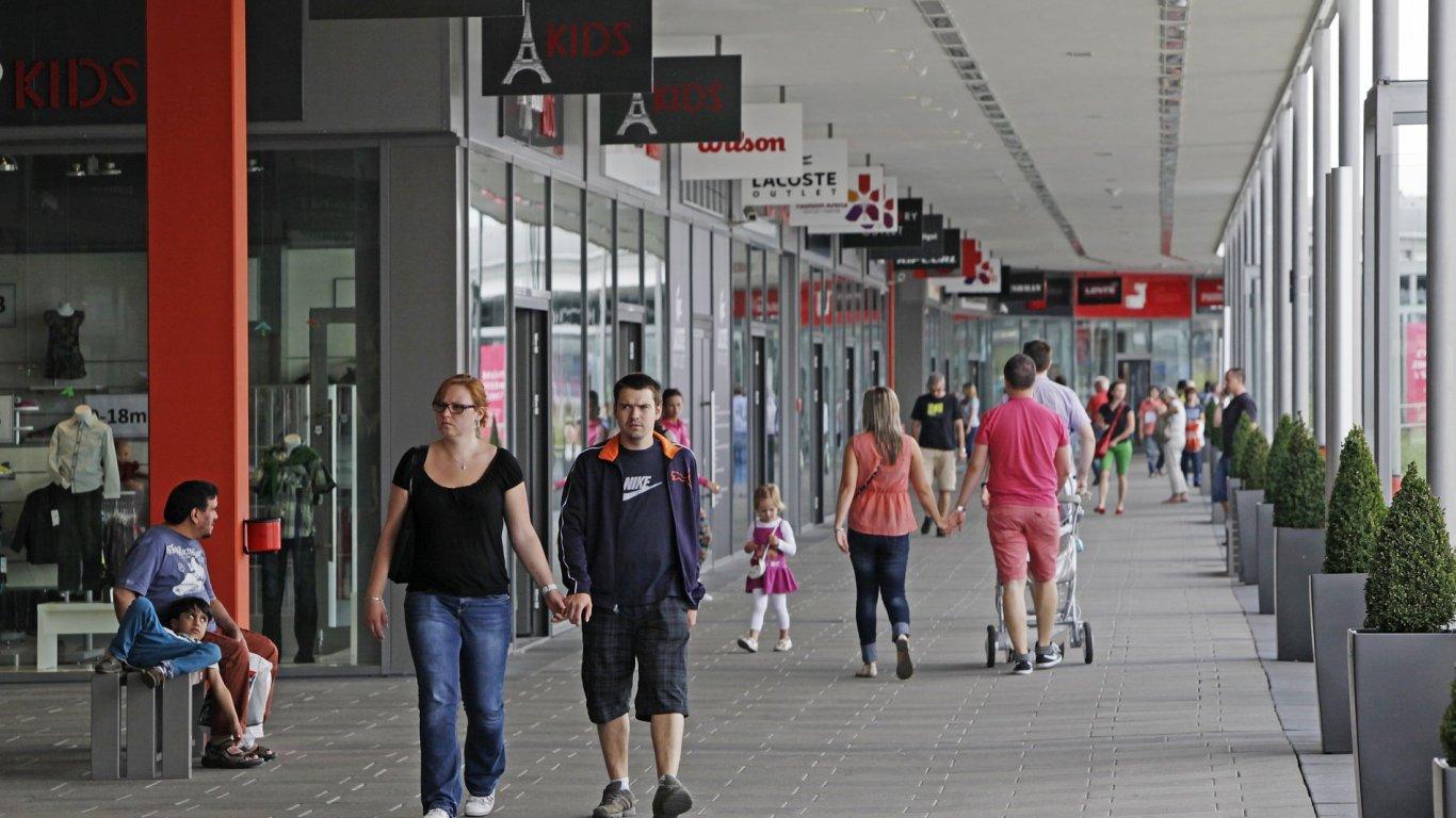 Fashion Arena Outlet Center, Štěrboholy, obchodní centrum.