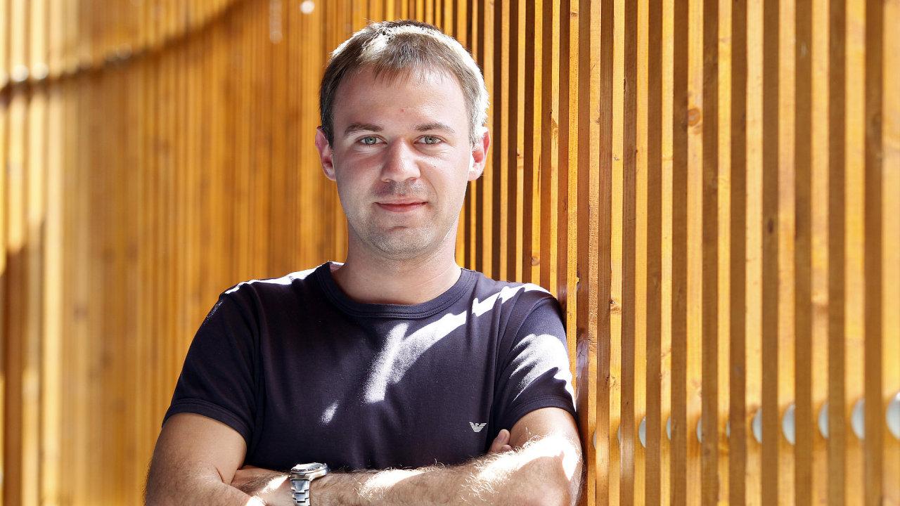 Oliver Dlouhý - zakladatel firmy Skypicker, nyní Kiwi.com.