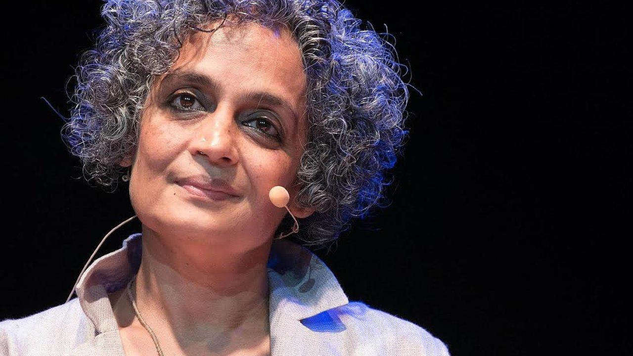 Spisovatelka Arundhati Royová.
