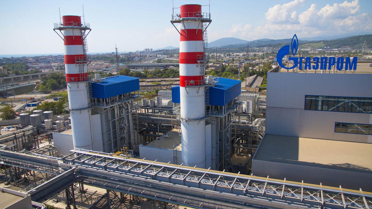 Ruský plynárenský gigant Gazprom je největším exportérem zemního plynu na světě.