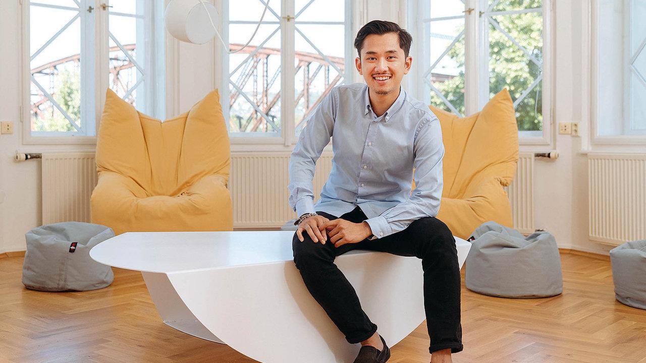 Šéf a společník IT firmy Avocode Vu Hoang Anh