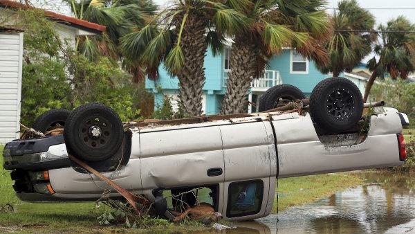Hurikán Harvey pustoší jihovýchod Spojených států