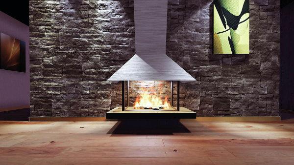Oheň v krbu neplní jen úlohu zajištění tepla, ale může dotvářet i příjemnou atmosféru a stát se součástí obytné místnosti.