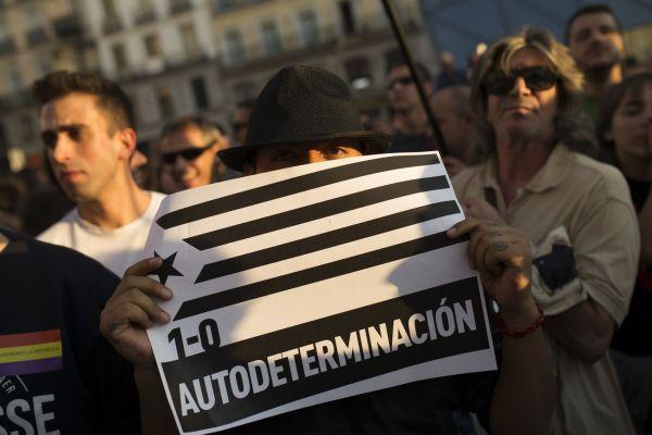 SPANELSKO DEMONSTRACE POLICIE REFERENDUM KATALANSKO 663