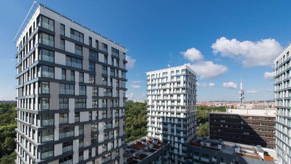 """Jedním z největších """"skokanů"""" je společnost Central Group. Za její vysoké tržby může hlavně kolaudace Residence Garden Tower na pražském Žižkově."""