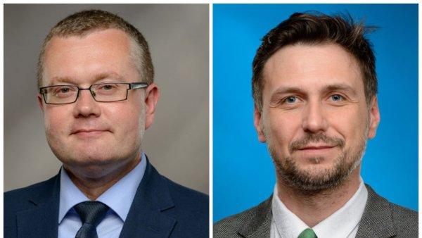 Martin Groman (vlevo) a Jiří Malina