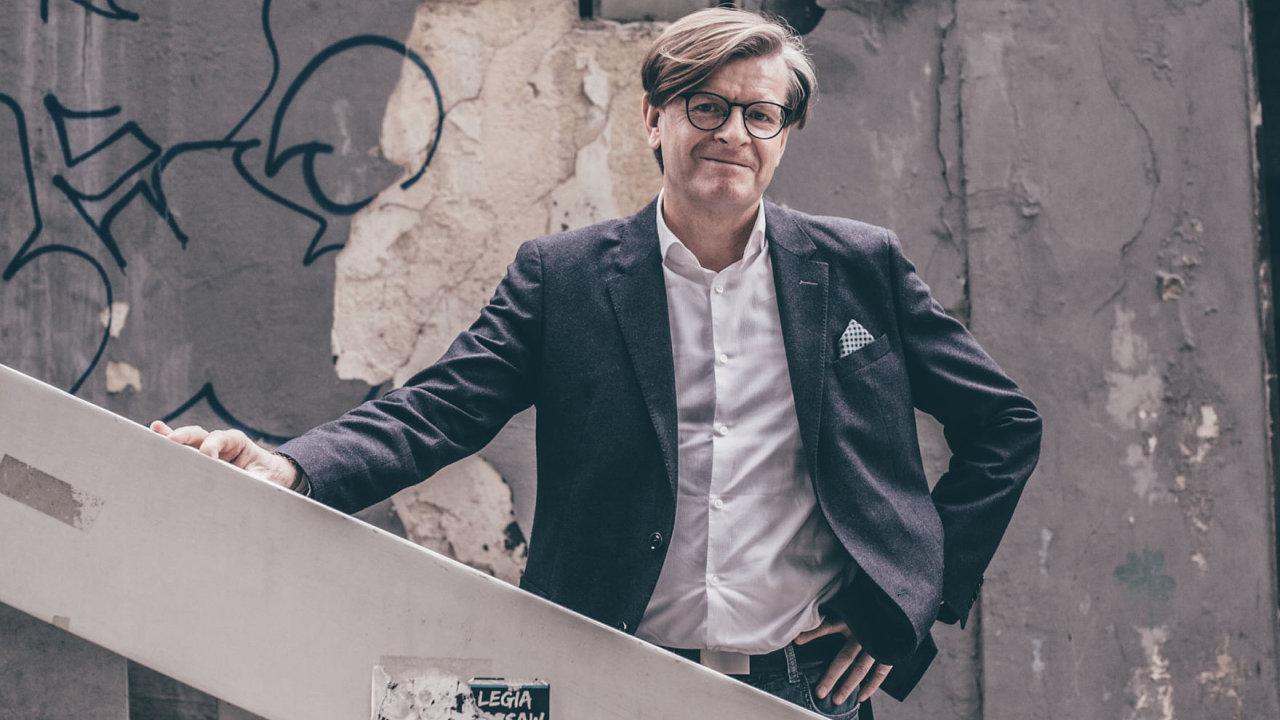 Rudolf Zunke, odborník vídeňské radnice na urbanismus, památkovou péči a výstavbu.