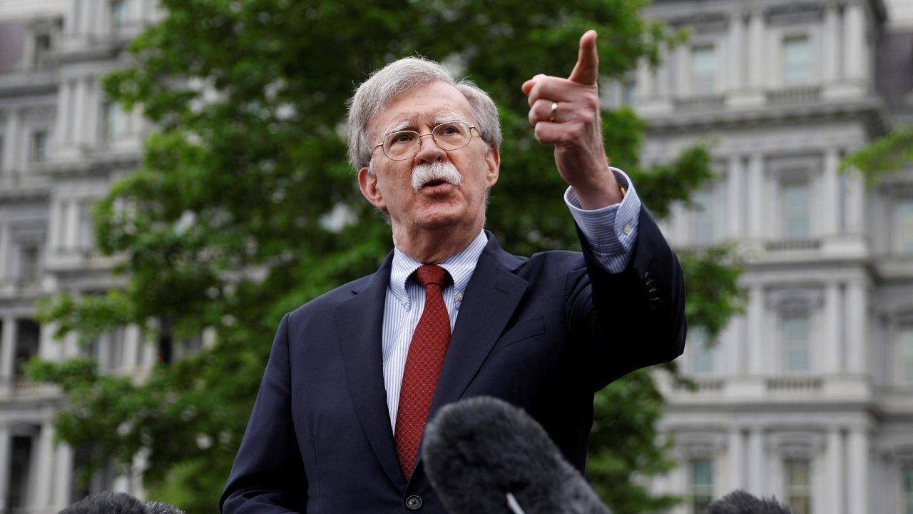 John Bolton, poradce amerického prezidenta pro národní bezpečnost