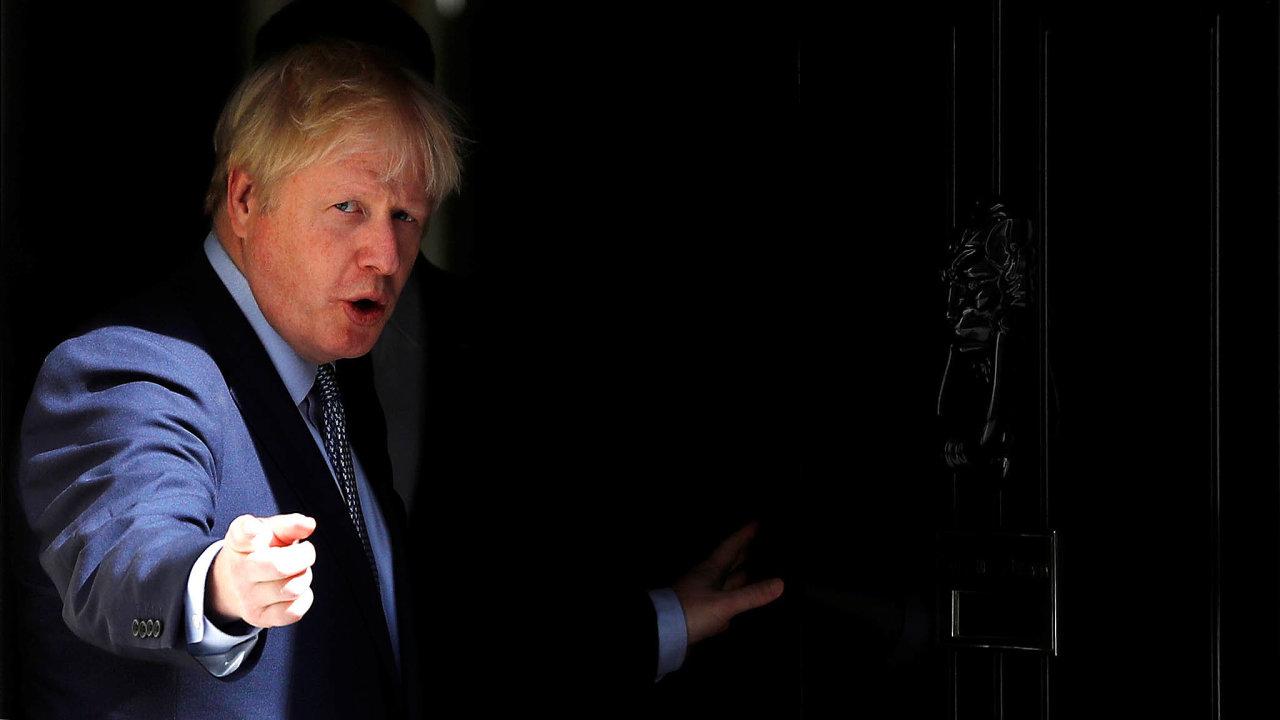Drsný vyjednavač. Britský premiér Boris Johnson hodlá přimět lídry Evropské unie ke změně podmínek brexitu.