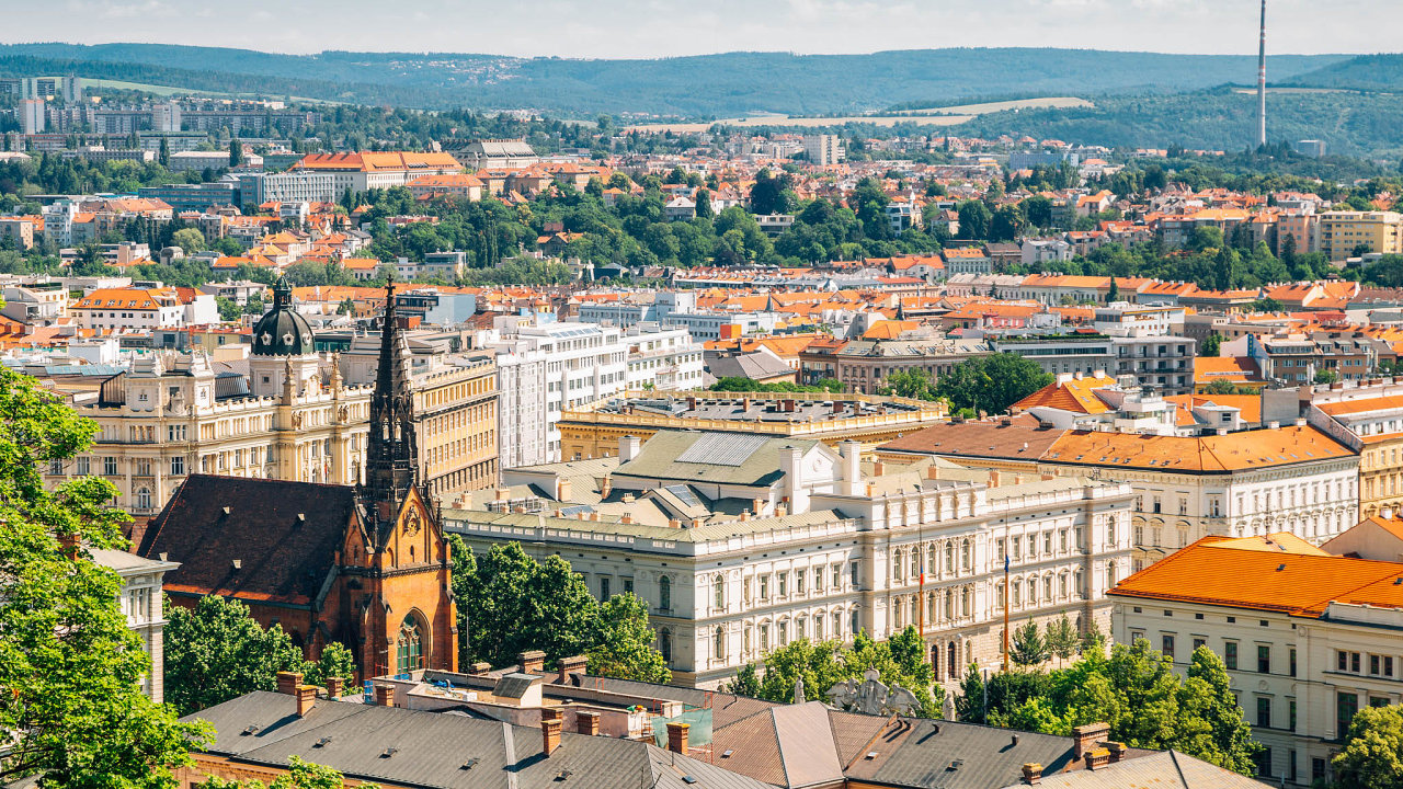 Růst cen nemovitostí vBrně pokračuje ivetřetím čtvrtletí roku 2019.