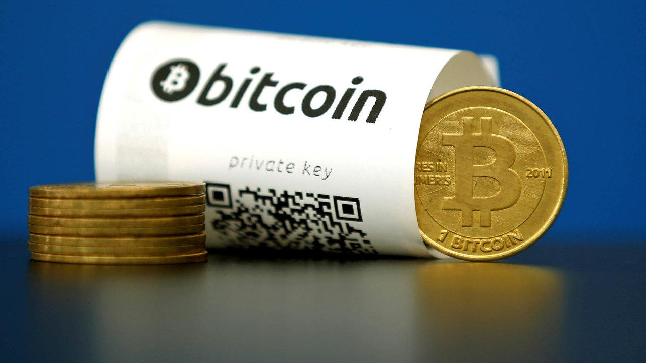 Symbol kryptoměny. S bitcoinem se vesele obchoduje, ač nikdo neví, na čem je jeho hodnota založena.