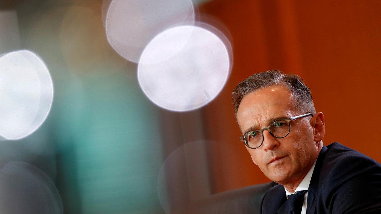 Dobrý vkus. Spolkový ministr zahraničí Heiko Maas je nazýván nejlépe oblékaným politikem Německa.