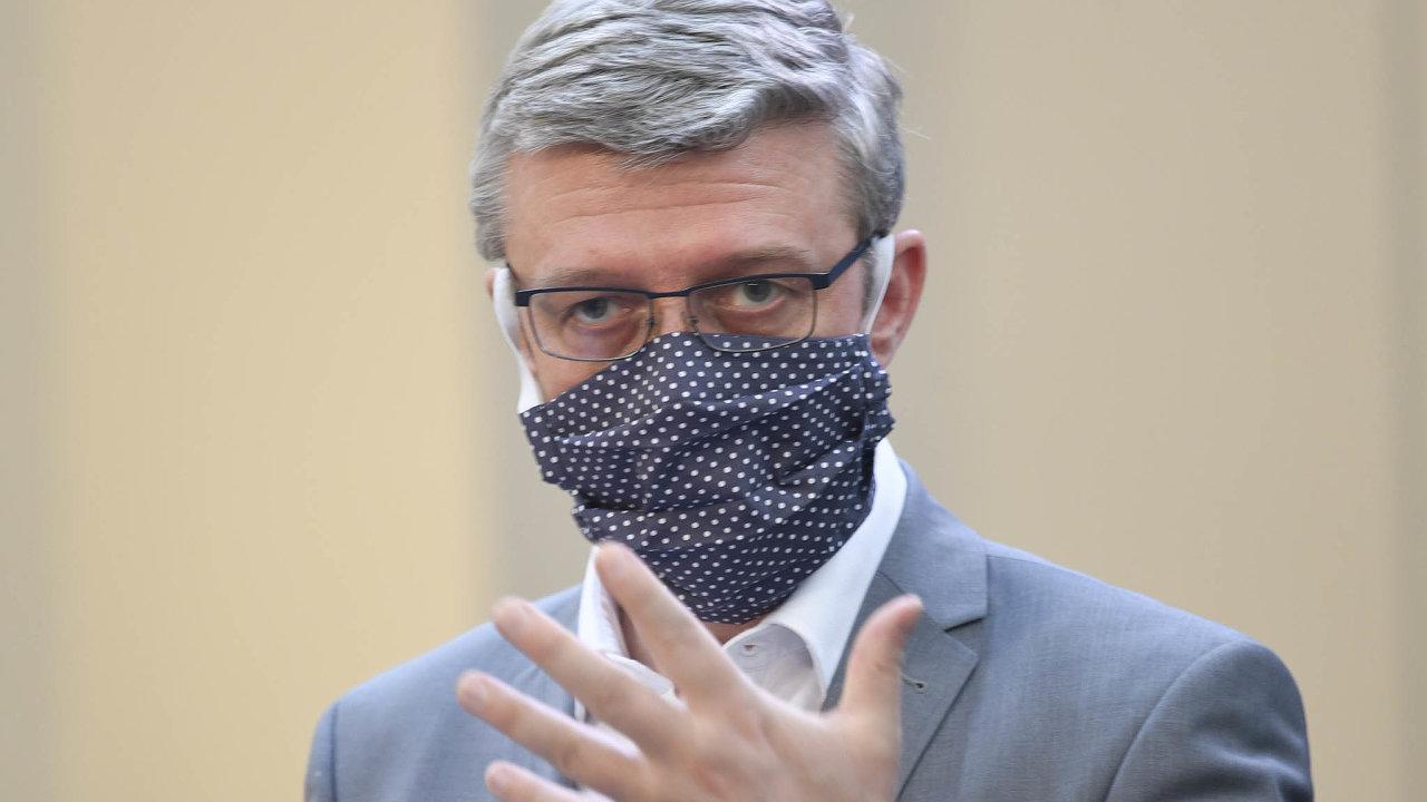 Ministerské řešení. Za klíčový nástroj podpory podnikatelů v koronavirové krizi označil ministr průmyslu Karel Havlíček