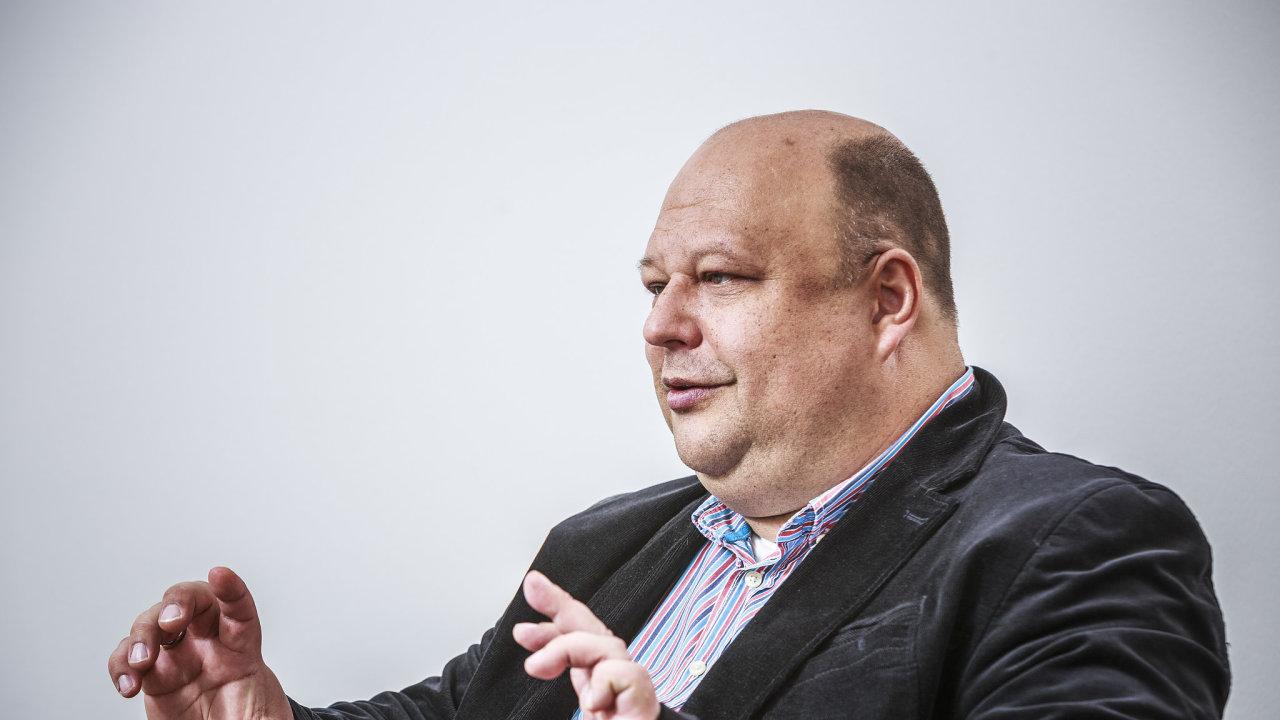 Na snímku předseda představenstva Vítkovice Steel Dmitrij Ščuka