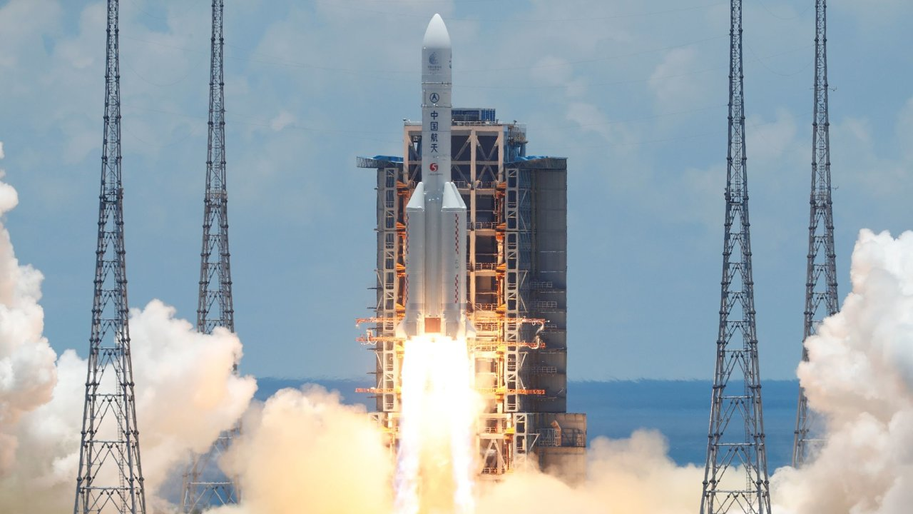 Čína zahájila misi na Mars