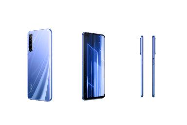 Realme X50 s6 GB paměti RAM, rychlým procesorem Snapdragon 765G aúložištěm okapacitě 128 GB je načeském trhu nejlevnějším přístrojem zvládajícím sítě 5G.