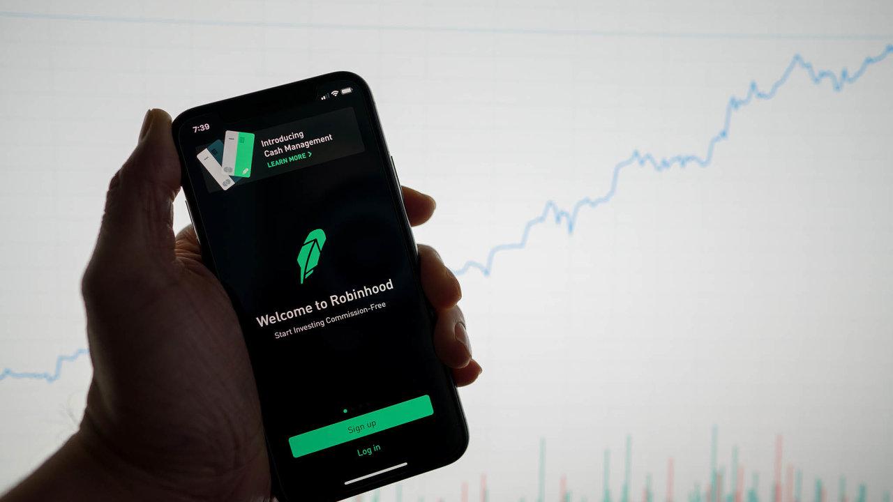 Úspěšný Robinhood. Fintech platforma se svíce než 13 miliony klienty stala letos jednou znejvětších amerických makléřských firem.