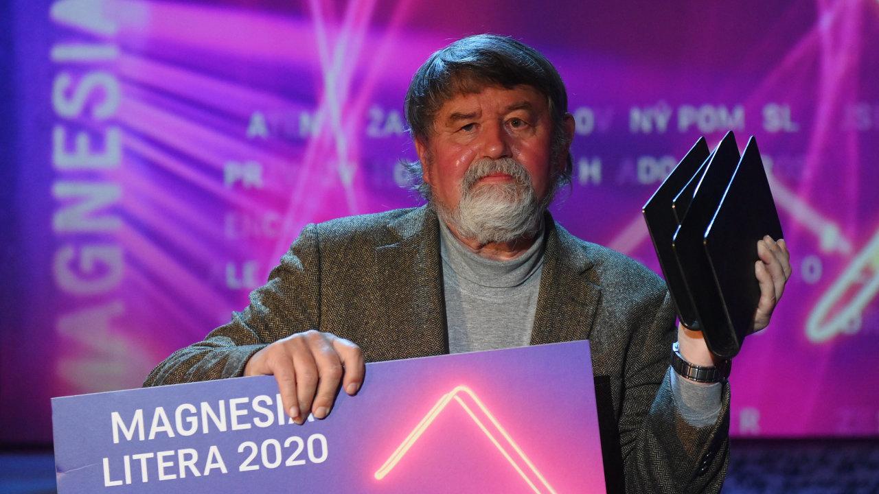 Dílo spisovatele Petra Čorneje (na snímku) s názvem Jan Žižka: Život a doba husitského válečníka bylo vyhlášeno Knihou roku 31. srpna 2020 v Praze při vyhlašování cen Magnesia Litera.