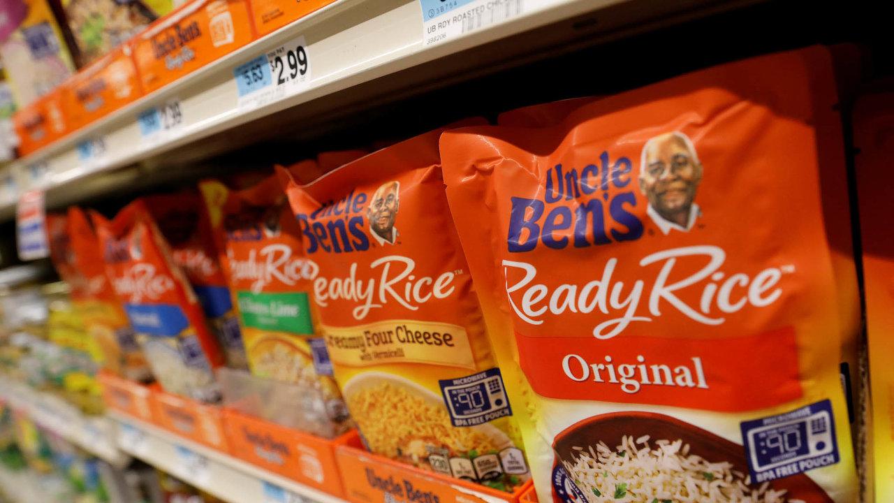 Značka rýže Uncle Ben's příští rok zmizí z obchodů.