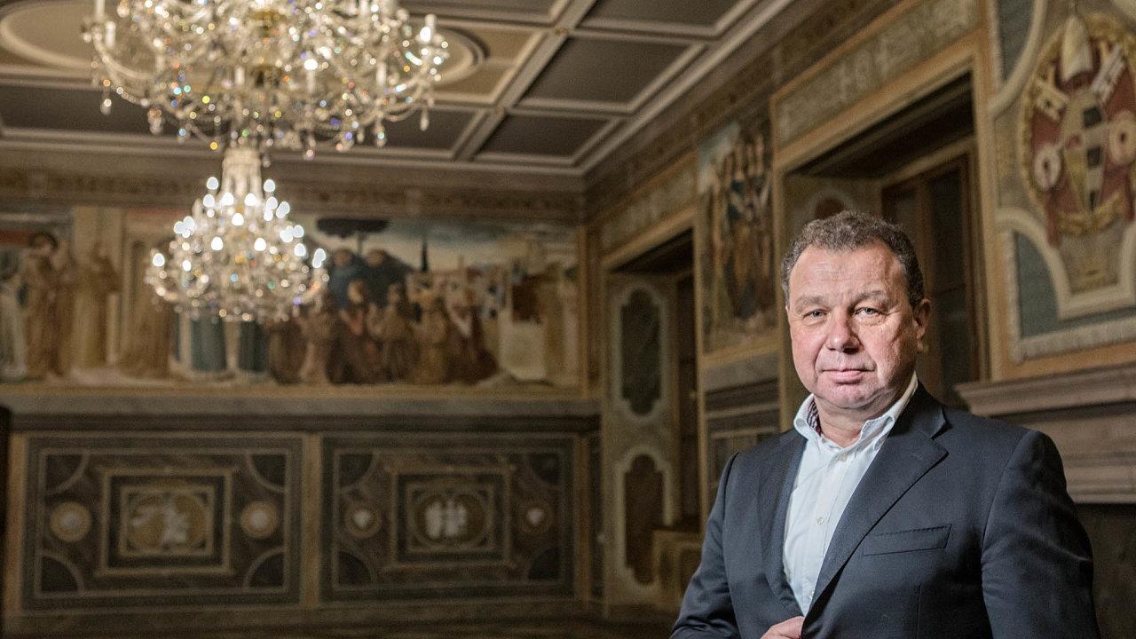 Miliardář Oldřich Šlemr