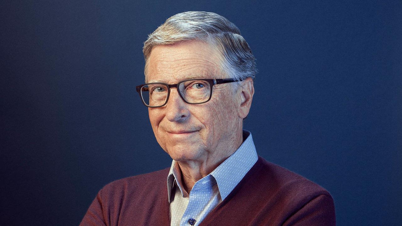 """""""Potřebujeme zacílit politické a technické IQ světa na eliminaci emisí skleníkových plynů. Budeme-li jednat dostatečně rychle, dokážeme předejít klimatické katastrofě,"""" tvrdí Bill Gates."""