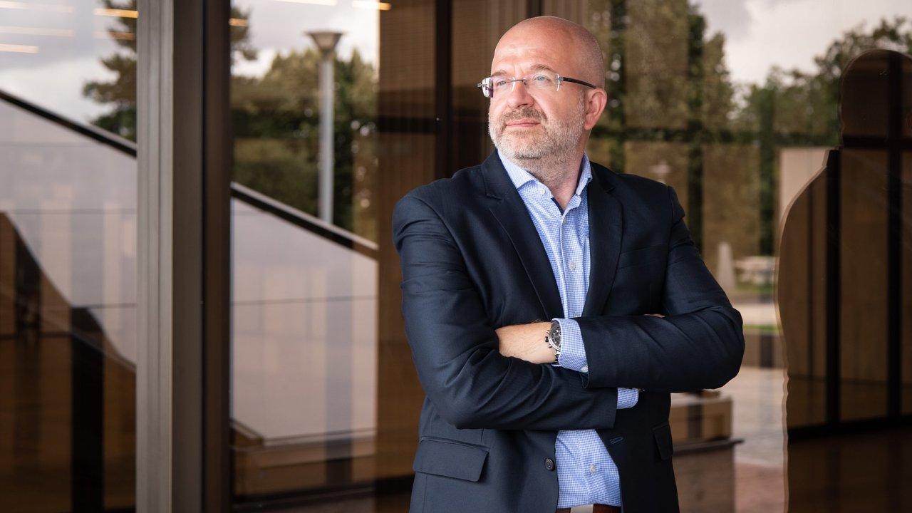 Petr Šlajchrt ze společnosti SAS Institute