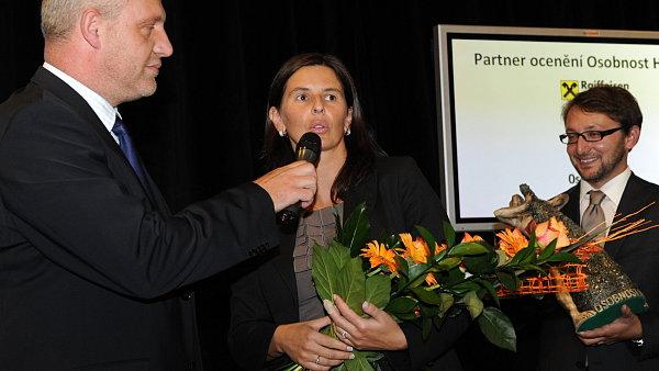 Loňská vítězka ceny HR osobnost roku Vladimíra Michnová, personální ředitelka Linet