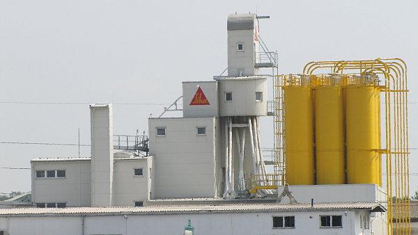 Sika CZ je výrobce stavební chemie a průmyslových tmelů - Ilustrační foto.