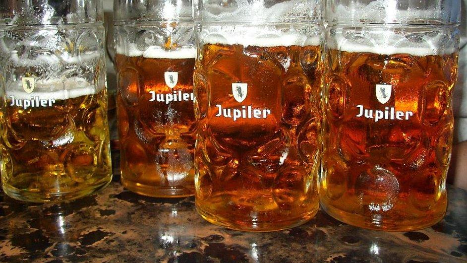 Belgické pivo Jupiter, ilustrační foto.
