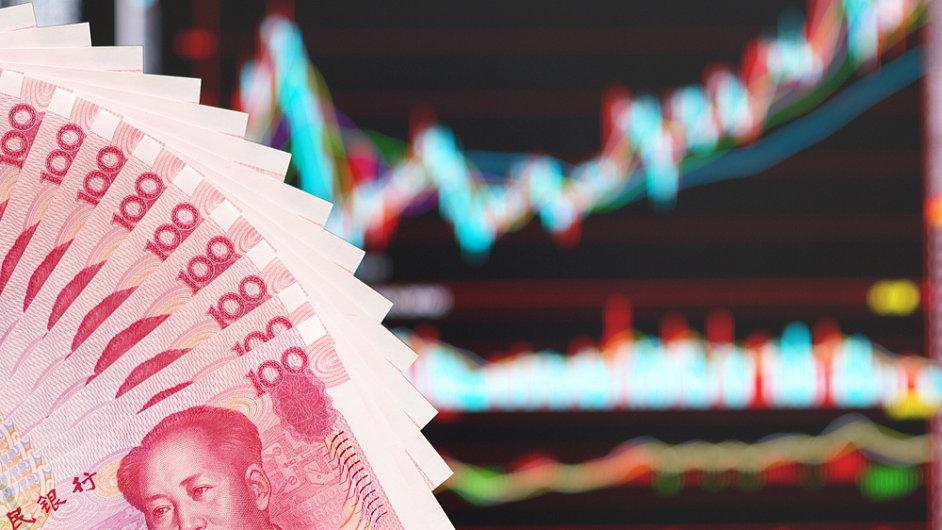 Čínská ekonomika letos bude dál zpomalovat - ilustrační foto.
