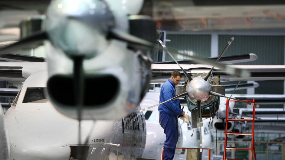 Výroba letadel v Kunovicích