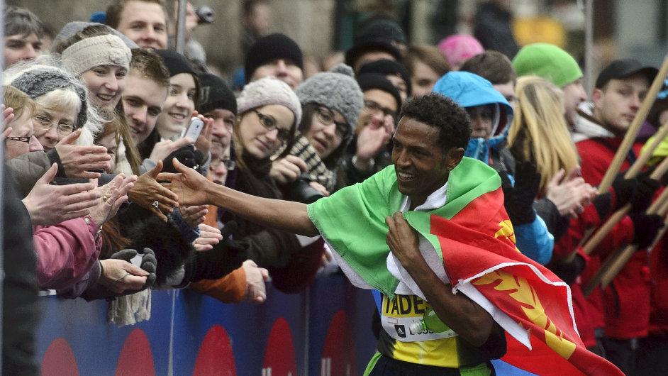 Zersenay Tadese vyhrál Pražský půlmaraton