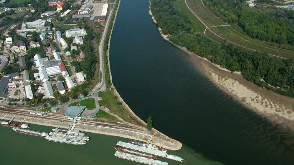 Komárno - Váh a Dunaj
