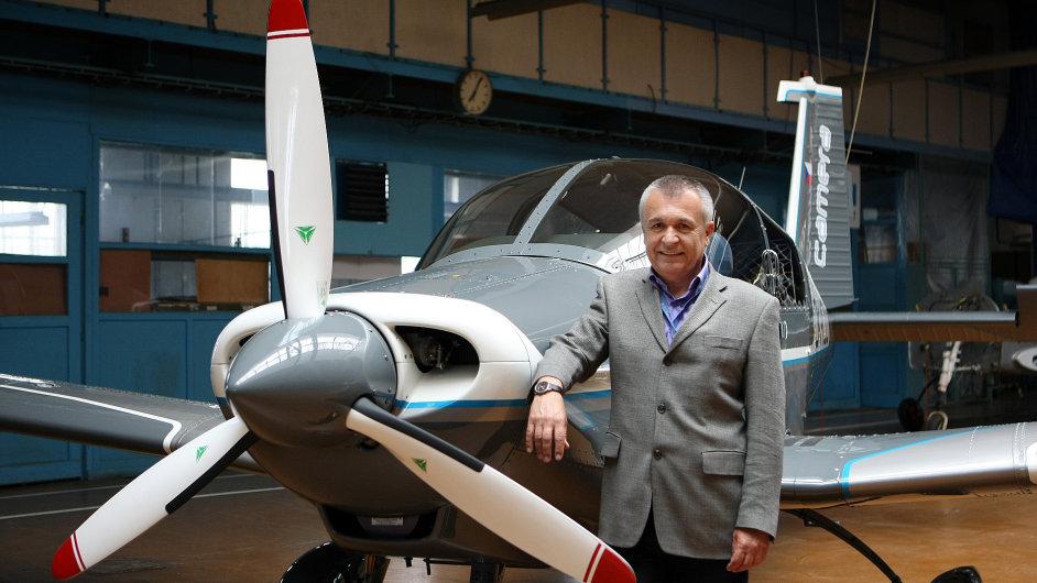 Generální ředitel Zlín Aircraft, Miloslav Tutter
