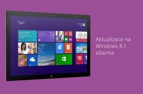 Tlačítko Start je zpět: Microsoft uvolnil bezplatný upgrade na Windows 8.1 o den dříve