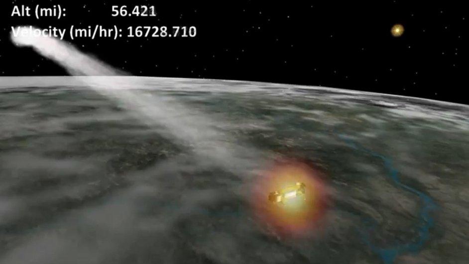 Satelit, ilustrační foto