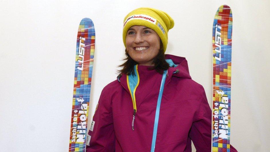 Akrobatická lyžařka Nikola Sudová před zahájením olympijské sezony.