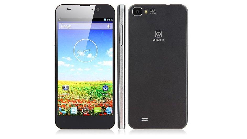 Zopo C2 připomíná starší modely iPhonů