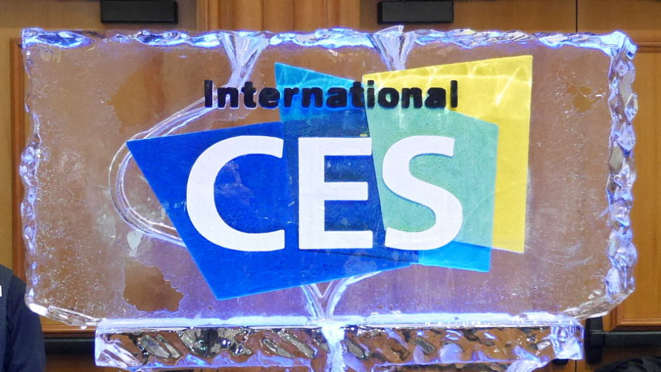 Logo veletrhu International CES v ledu