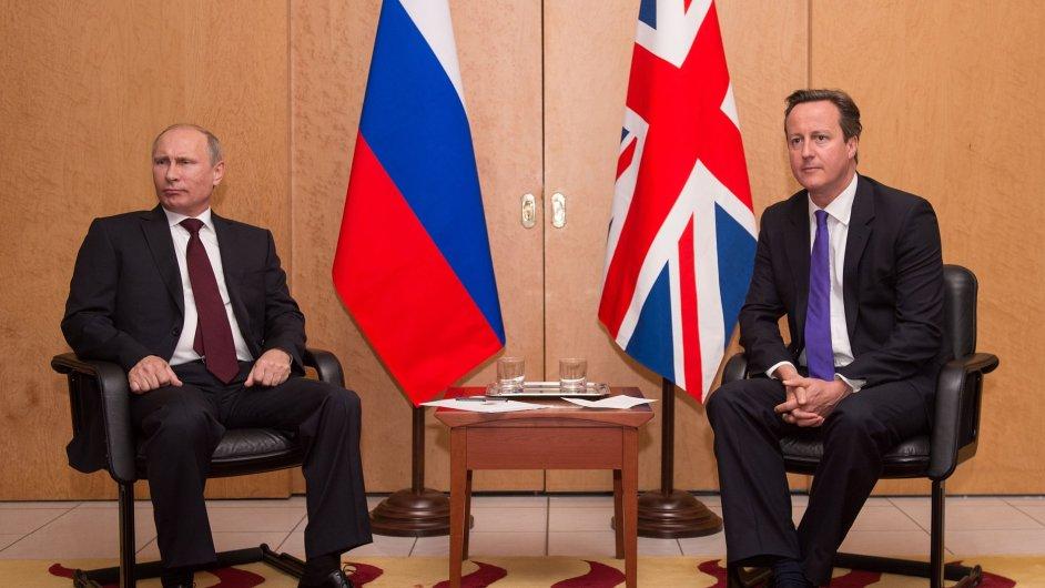 Setkání Putina s Cameronem před výročím Dne D